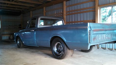 67 chevy c10 shop truck patina paint tubbed classic
