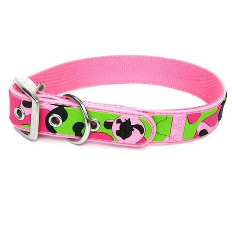 cute pattern dog collars cute pink camouflage pattern pvc dog collars petsoo com