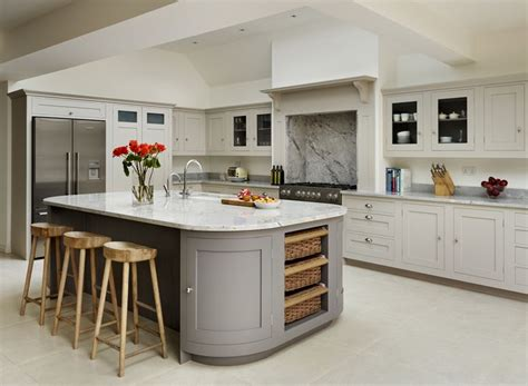 Country Kitchen Island Designs by Relics Of Witney The Best Grey Paints
