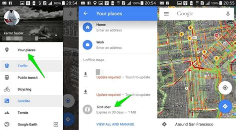 android offline maps how to use maps offline android ubergizmo
