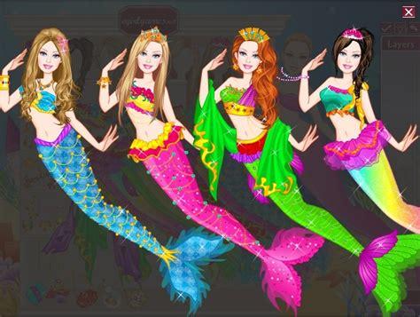 barbie mermaid dress up games barbie the mermaid game