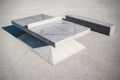 concrete ping pong table monoliths concrete ping pong tables hiconsumption