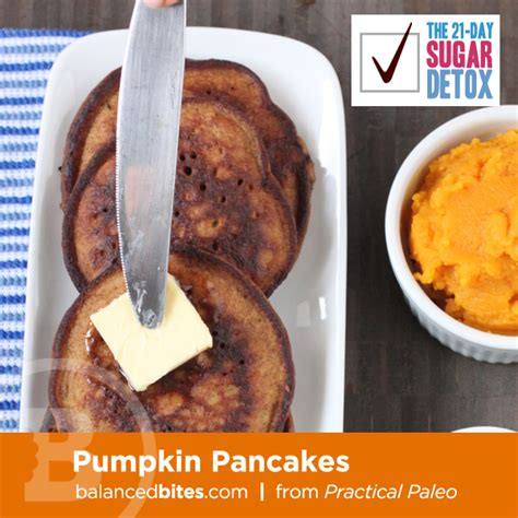 Civilized Caveman 21 Day Sugar Detox by Pumpkin Pancakes From Practical Paleo Fastpaleo