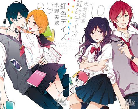 anime rainbow day l anime et le rainbow days licenci 233 s en