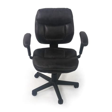 Plush Leather by 86 Plush Faux Leather Office Chair Chairs