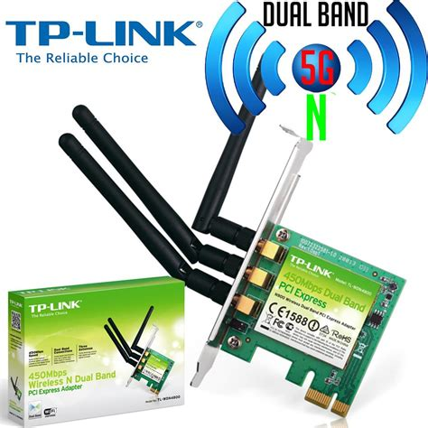 Wireless Pci Card Tp Link tp link wireless n dual band pci e pci card 5ghz wn881nd wdn4800 new