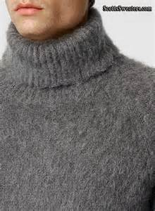 701 017 men s new fuzzy turtleneck mohair sweater with zipper sides