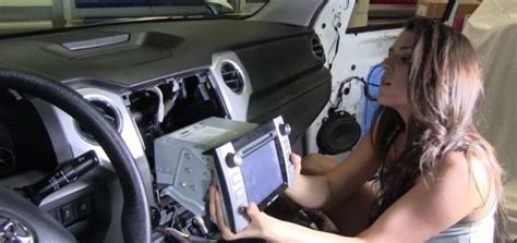 Toyota Tundra Stereo Upgrade 2014 Toyota Corolla Left Radio Removal And Upgrade With