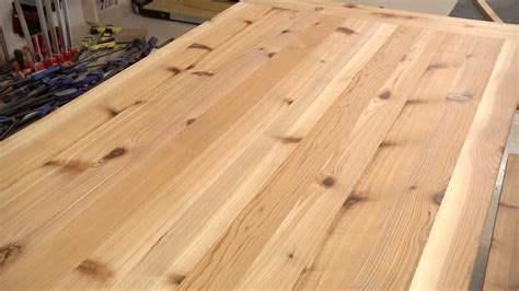 cedar table top 208 rustic outdoor table 1 of 2 the wood whisperer