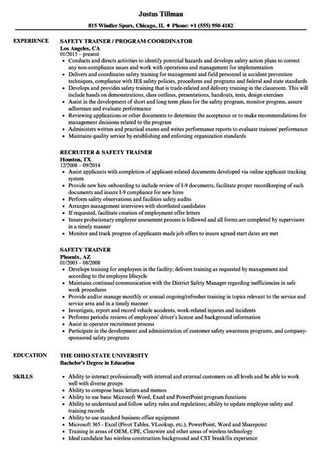 sle cv for vetassess trainer resume exles financial counselor cover letter