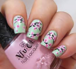 Did my nails cherry blossom nail art tutorial