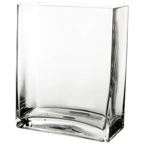 Cheap Rectangle Vases by Wholesale Rectangular Vase Clear 10 Quot H X 8 Quot W X 4 Quot L Pack