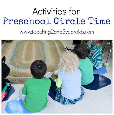 Preschool Circle Time Mats by Creating A Preschool Circle Time Teaching2and3yearolds