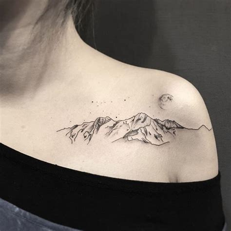 22 amazing mountain tattoos natural tattoo designs