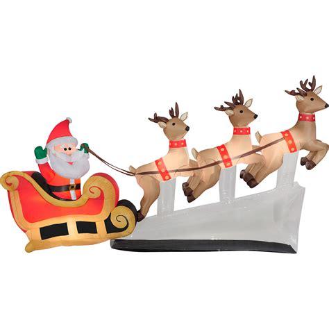 santa sleigh table decoration santa sleigh decoration reviravoltta com