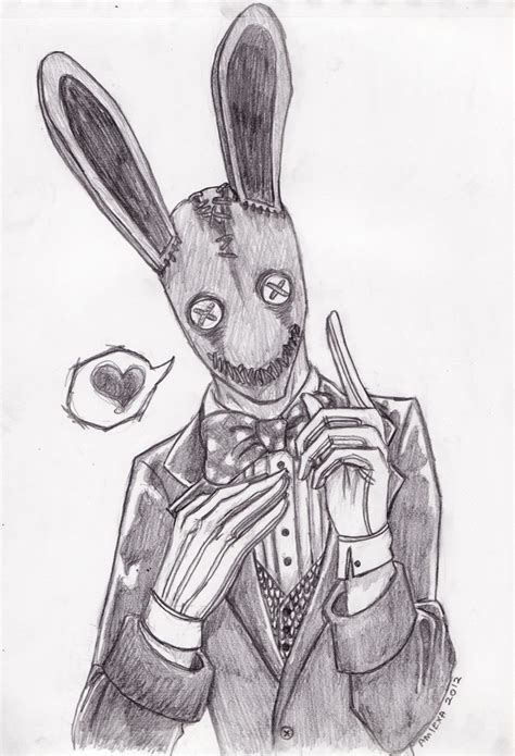 mr bunny man by amiexa on deviantart
