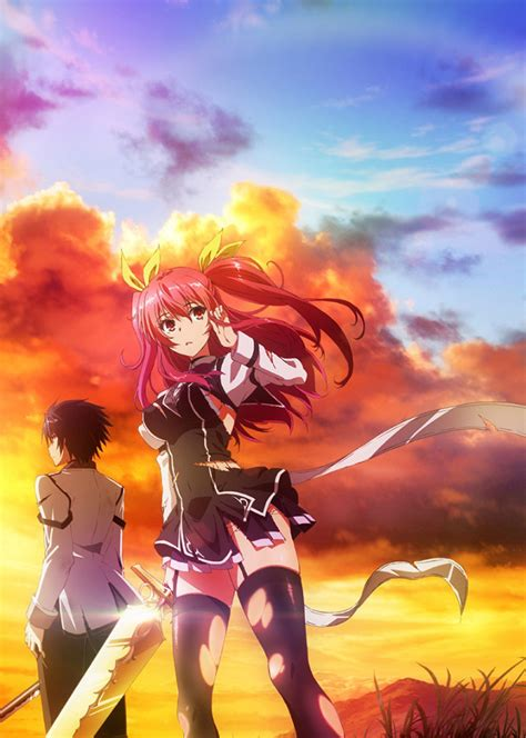 rakudai kishi no cavalry reparto y equipo principal para el anime rakudai kishi no