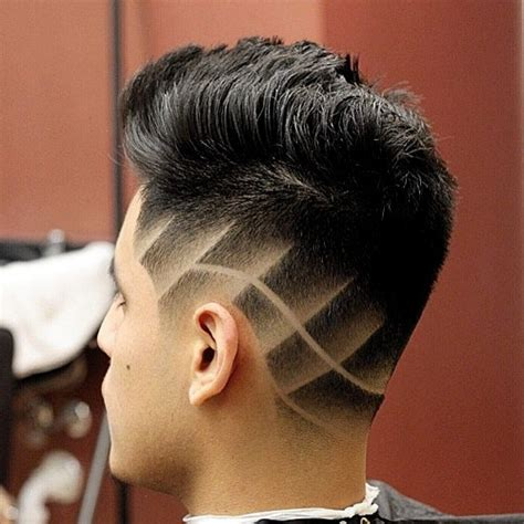 shaved hair lines image gallery line up haircut designs