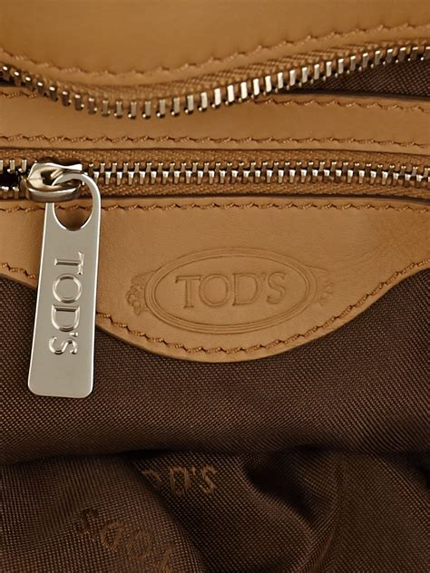 Tods Styling Large Tote tod s beige leather d styling manici new grande large tote