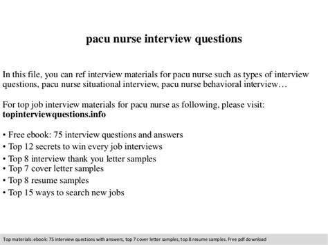 pacu questions