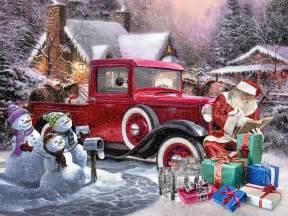 Santa Ford 5 Rods Santa Could Be Driving This The Auto Parts Warehouse