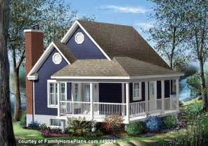 Cottage Plans by House Plans With Porches Wrap Around Porch House Plans