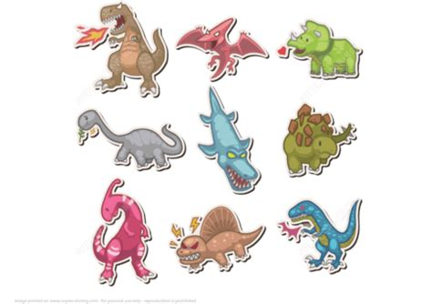 Dinosaur Craft Printable