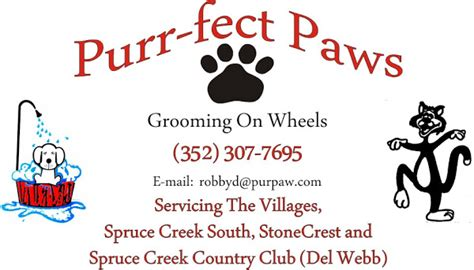 grooming on wheels purr fect paws grooming on wheels