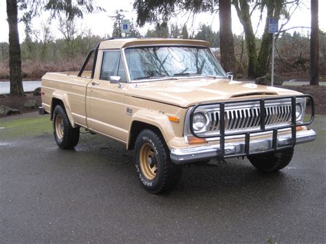 jeep j10 golden eagle jeep 1978 j10 j 10 golden eagle 401 shortbed 4x4 rust free