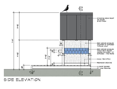 side elevation birdhouse drawings side elevation design by dallas