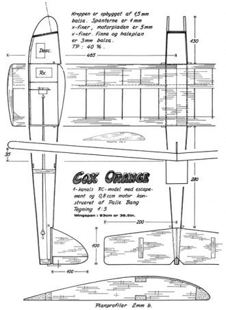 plan cox carte ville cox cox 020 pee wee plans aerofred download free model
