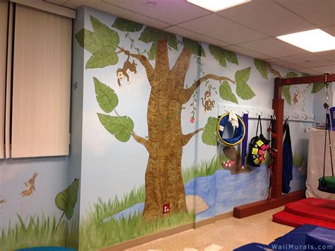 wall tree mural jungle wall murals exles of jungle theme murals
