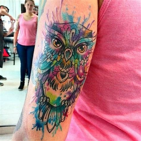 watercolor tattoos cleveland 25 best ideas about watercolor owl tattoos on
