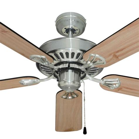 warehouse ceiling fans mercator hayman ceiling fan 52 quot in brushed chrome