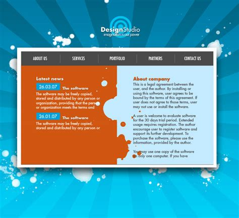layout photoshop to html css how do you start to translate a web design layout to