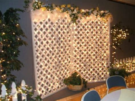 Wedding Backdrop Lattice by Tips For Decorating Your Lattice