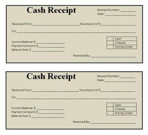 Pos Receipt Template Word by Receipt Template Word Printable Receipt Template