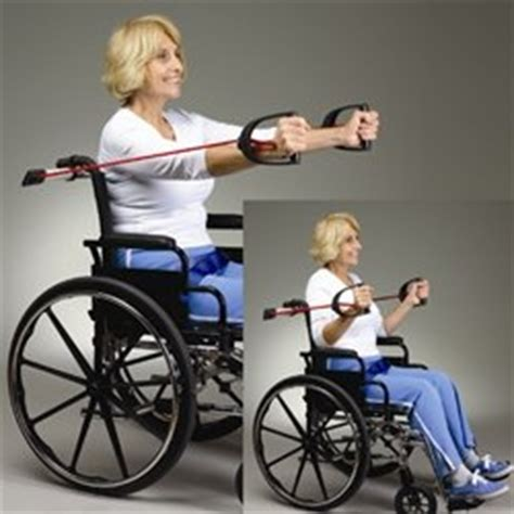 wheelchair exercise kit wheelchair resistance equipment special needs exercises