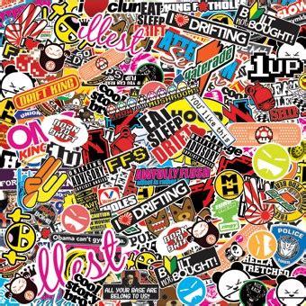 jdm sticker bomb 60 epic stickerbombs geeky jdm sticker decals japanese