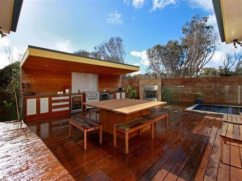 outdoor living design with bbq area from a real australian home outdoor living photo 193727