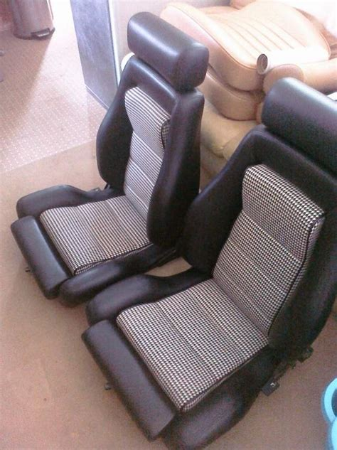 pair of ls pair of recaro ls seats newly recovered in black