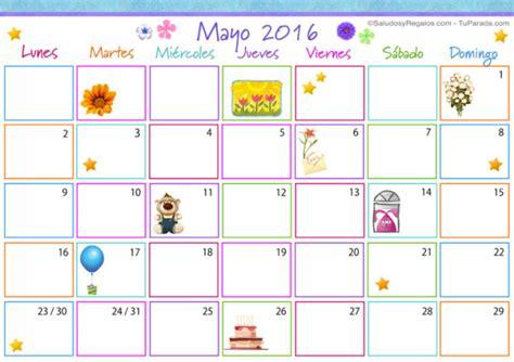 Calendã Do Mãªs De Abril De 2016 Mes De Mayo 2016 Calendarios En Im 225 Genes Para Descargar