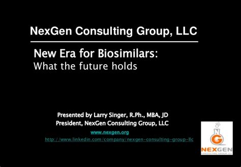 Start Consulting After Mba Nonresident Llc biosimilars where we are where we are headed
