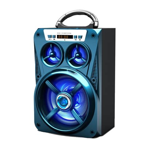 large bluetooth speakers with lights wholesale led light large woofer portable bluetooth