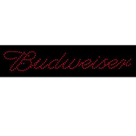 Budweiser L by Budweiser L E D L Sign In Neon Signs