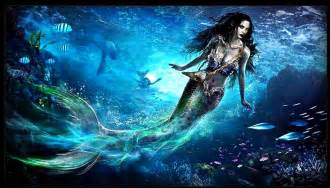 Beautiful mermaid art from 3x01 quot heart of the truest believer