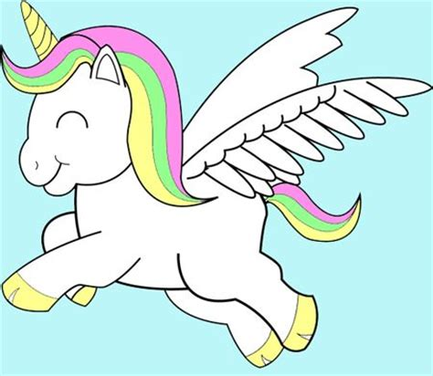 wallpaper unicorn cartoon pix for gt cute animated unicorns projects to try