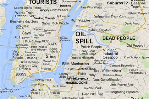 Meme Nyc Menu - this new york city map will offend pretty much everyone