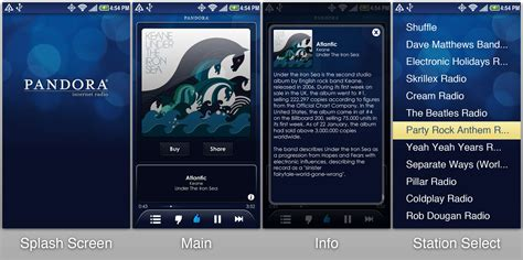 pandora android app 10 of the best android apps for