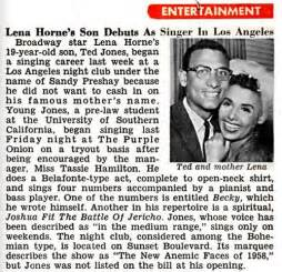 Lena Horne Leaked Nude Photo